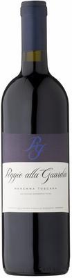 Вино красное сухое  «Poggio alla Guardia, 0.75 л» 2015 г.