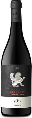 Вино красное полусладкое «Fellone Primitivo» 2013 г.