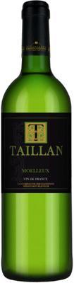 Вино белое полусладкое «Taillan Blanc» географического наименования регион Лангедок-Руссильон