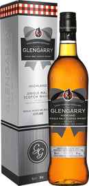 Виски шотландский «Glengarry Single Malt» в подарочной упаковке