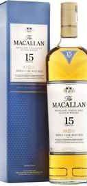 Виски шотландский «Macallan Triple Cask Matured 15 Years Old» в подарочной упаковке
