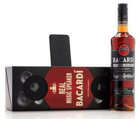 Ром «Bacardi Carta Negra» со встраиваемыми динамиками в подарочной упаковке