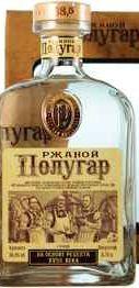 Напиток алкогольный крепкий «Полугар Ржаной» в подарочной упаковке