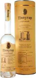 Напиток алкогольный крепкий «Полугар Лавровый» в подарочной упаковке