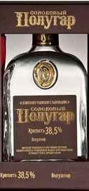 Напиток алкогольный крепкий «Полугар Солодовый» в подарочной упаковке