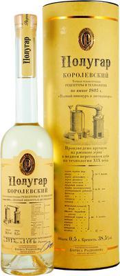 Напиток алкогольный крепкий  «Полугар Королевский» в подарочной упаковке