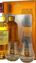 Виски шотландский  «Glenlivet 12 Years Old Excellence» + 2 бокала в подарочной упаковке