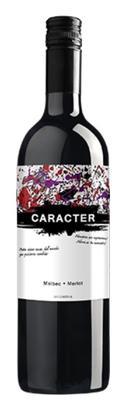 Вино красное сухое «Caracter Shiraz-Malbec» 2017 г.