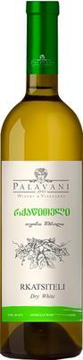 Вино белое сухое «Palavani Rkatsiteli»