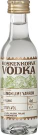 Водка «Koskenkorva» со вкусом лимона лайма и тысячелистника