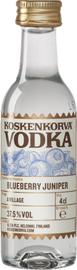 Водка «Koskenkorva» со вкусом черники и можжевельника