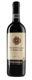 Вино красное сухое «Fontegaia Montepulciano D'Abruzzo» 2017 г.