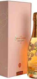Шампанское розовое брют «Belle Epoque Rose» в подарочной упаковке