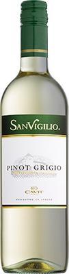 Вино белое сухое «SanVigilio Pinot Grigio» 2017 г.