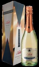 Вино игристое белое сладкое «Asti Marchesini» в подарочной упаковке