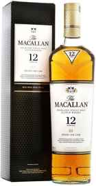 Виски шотландский «Macallan Sherry Oak 12 Years Old» в подарочной упаковке