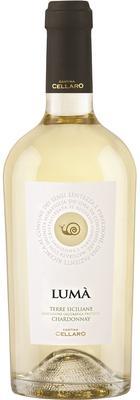 Вино белое полусухое «Chardonnay Terre Siciliane Luma»