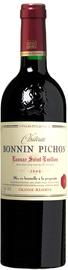Вино красное сухое «Chateau Bonnin Pichon Lussac Saint-Emilion» 2014 г.