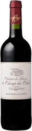 Вино красное сухое «Chateau Les Graves du Champ des Chails Blaye Cotes de Bordeaux» 2015 г.