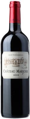 Вино красное сухое «Chateau Marjosse Bordeaux» 2014 г.