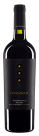 Вино красное полусухое «Primitivo Puglia Luccarelli» 2016 г.