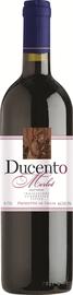 Вино красное сухое «Merlot delle Venezie Ducento» 2015 г.