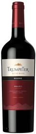 Вино красное сухое «Malbec Reserve Mendoza Trumpeter Rutini Wines» 2016 г.
