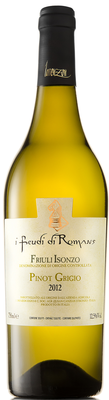 Вино белое сухое «Pinot Grigio Friuli Isonzo I Feudi di Romans»