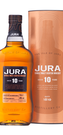Виски шотландский «Jura Aged 10 Years» в металлической тубе