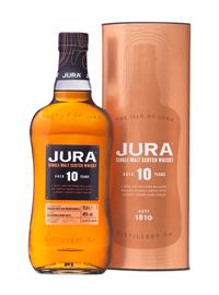 Виски шотландский «Jura Aged 10 Years» в тубе