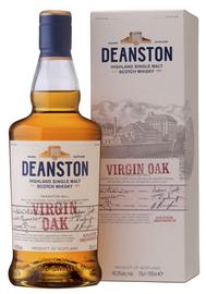 Виски шотландский «Deanston Virgin Oak» в подарочной упаковке