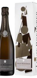 Вино игристое белое брют «Louis Roederer Brut Vintage» 2012 г., в подарочной упаковке