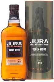 Виски шотландский «Jura Seven Wood» в подарочной упаковке
