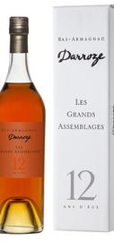 Арманьяк «Bas-Armagnac Darroze Les Grands Assemblages 12 Ans d'Age» в подарочной упаковке