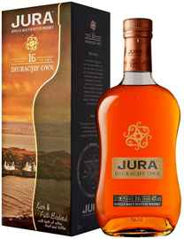 Виски шотландский «Jura Diurachs' Own Aged 16 Years» в подарочной упаковке