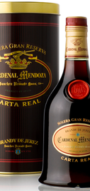 Бренди «Brandy de Jerez Cardenal Mendoza Carta Real Solera Gran  »