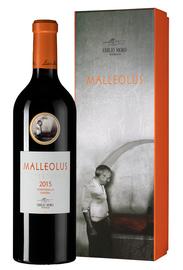Вино красное сухое «Malleolus» 2015 г., в подарочной упаковке