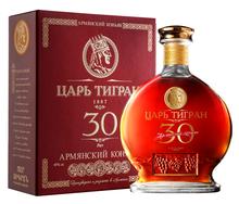 Коньяк армянский «Царь Тигран 30-летний» в подарочной упаковке