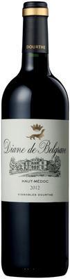 Вино красное сухое «Diane de Belgrave Dourthe» 2012 г.