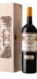 Вино красное сухое «Tenuta Frescobaldi di Castiglioni» 2015 г., в деревянной подарочной упаковке