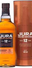 Виски шотландский «Jura Aged 12 Years» в подарочной упаковке