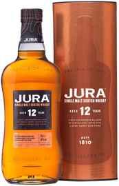 Виски шотландский «Jura Aged 12 Years» в тубе