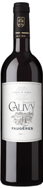 Вино красное сухое «Faugeres Domaine de Cauvy» 2015 г.