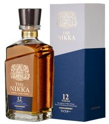 Виски японский «The Nikka 12 years old» в подарочной упаковке