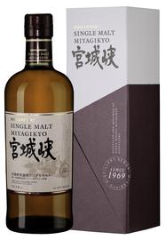 Виски японский «Nikka Miyagikyo Single Malt» в подарочной упаковке