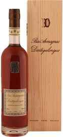 Арманьяк «Bas Armagnac Dartigalongue Vintage 1974» в деревянной подарочной упаковке