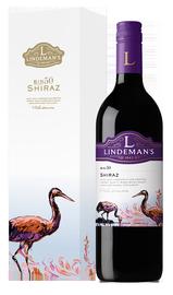 Вино красное полусухое «Lindemans Bin 50 Shiraz» в подарочной упаковке