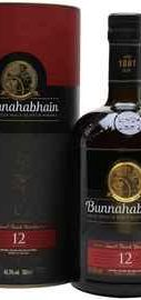 Виски шотландский « Bunnahabhain aged 12 years» в подарочной упаковке