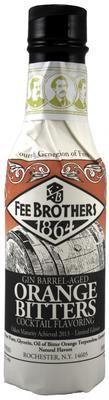 Ликер «Fee Brothers Gin Barrel-Aged Orange Bitters»