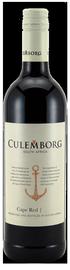 Вино красное сухое «Culemborg Cape Red» 2017 г.